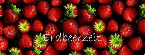 Erdbeersaison im Gasthaus Jansen in Vechta